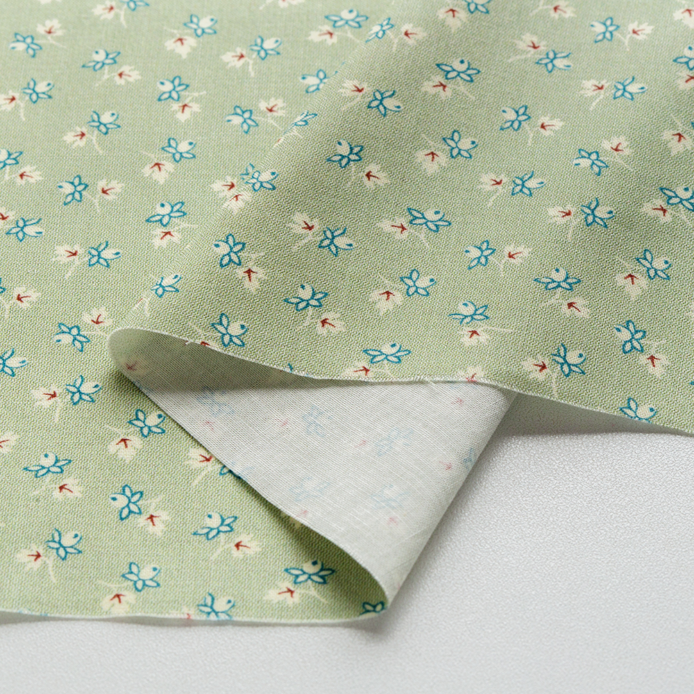 textile pantry JUNKO MATSUDA バラつぼみ スケア生地